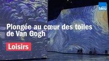 Immersion dans l'expo Van Gogh au Havre