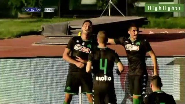1-2 Federico Macheda Second Goal - Ajax 1-2 Panathinaikos - 22.07.2019