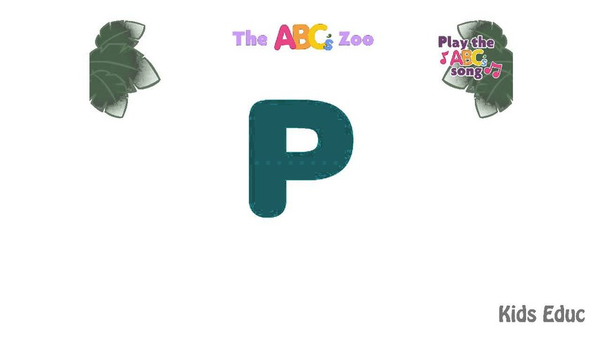 ABC's  Zoo Learning, Alphabet Songs, Learn ABC Zoo Animals, Songs for Children, Cartoon