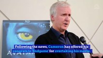James Cameron Responds to 'Avengers: Endgame' Taking Box Office Record