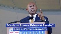 Mariano Rivera Closes The Hall of Fame Ceremony