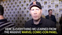 Here's Everything We Learned From Marvel's Massive Comic-Con Panel