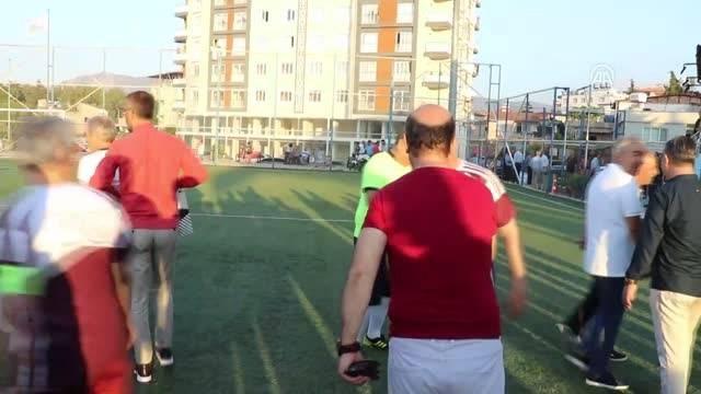 Eski Beşiktaşlı futbolculardan Hatayda dostluk maçı