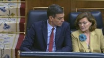 Sánchez e Iglesias exhiben su desconfianza en la sesión de investidura