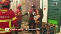 Incendies au Portugal : 1 700 pompiers mobilisés pour lutter contre les flammes