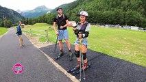 TESTE - APPROUVE OT Contamine Montjoie - Ski Roue Biathlon