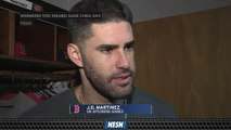 J.D. Martinez Says Upcoming Series Vs. Rays AndYankees s Crucial Time To Gain Ground In AL Standings