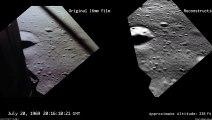 La NASA vuelve a filmar lo que Aldrin vió cuando llegaba la Luna