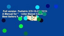 ce8d144c6b589 Download Books Pediatric ICD-10-CM: A Manual for Provider-Based ...