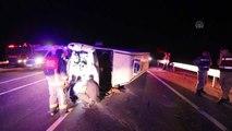 Malatya'da otomobille panelvan çarpıştı: 8 yaralı