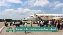 Nova áerea de baixo custo chega ao Brasil