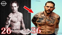 Tom Hardy - From 19 To 41 Years Old