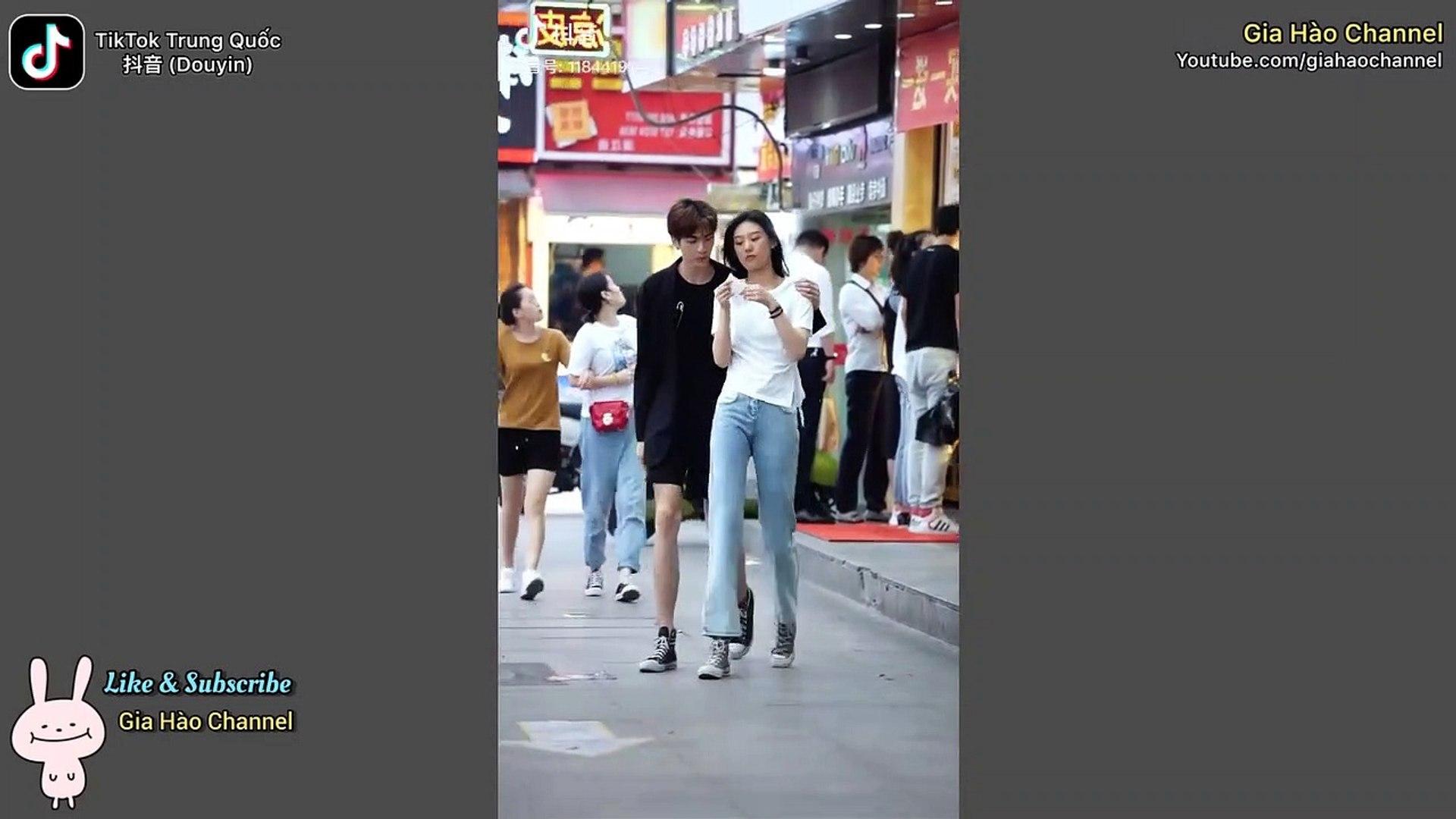 【抖音】TikTok Trung Quốc ❤️ Thời trang đường phố Trung Quốc #11 - Street style in China
