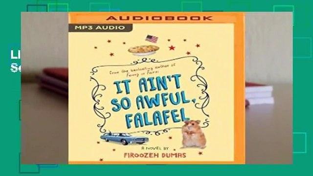 Livre audio It Ain t So Awful, Falafel Pour Kindle