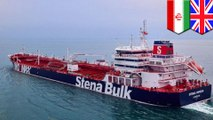 Iran seizes British-flagged oil tanker in the Strait of Hormuz
