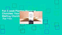 Full E-book Planting Missional Churches: Your Guide to Starting Churches that Multiply  For Free