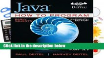 [FREE] Java How to Program, Early Objects (Deitel: How to Program)