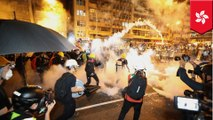 Police use tear gas as Hong Kong extradition protests turn violent