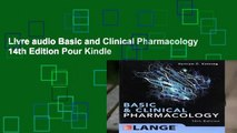 Livre audio Basic and Clinical Pharmacology 14th Edition Pour Kindle