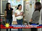 Korean actress Lee Da-hae says sorry to Pinoys