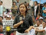 Farmers protest as hearings on Hacienda Luisita proceed