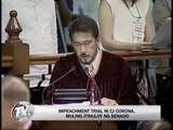 Impeachment court skips some defense witnesses