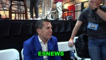 Julio Cesar Chavez Sr Favorite Heavyweight Is Andy Ruiz Talks Pacquiao Thurman
