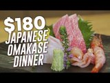$180 7-Course Japanese Omakase Dinner: Sushi Jin