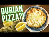 Durian Cafe: Durian Pizza, Durian Nuggets, Durian Fries & More!