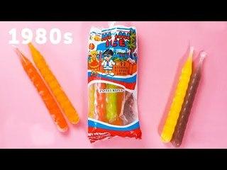 50 Years of Singaporean Childhood Snacks