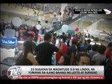 23 hurt in Surigao quake