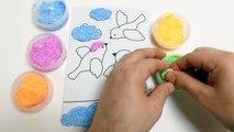 Foam Clay - Pearl Putty Playdough Floam - Birds Shape DIY Toys