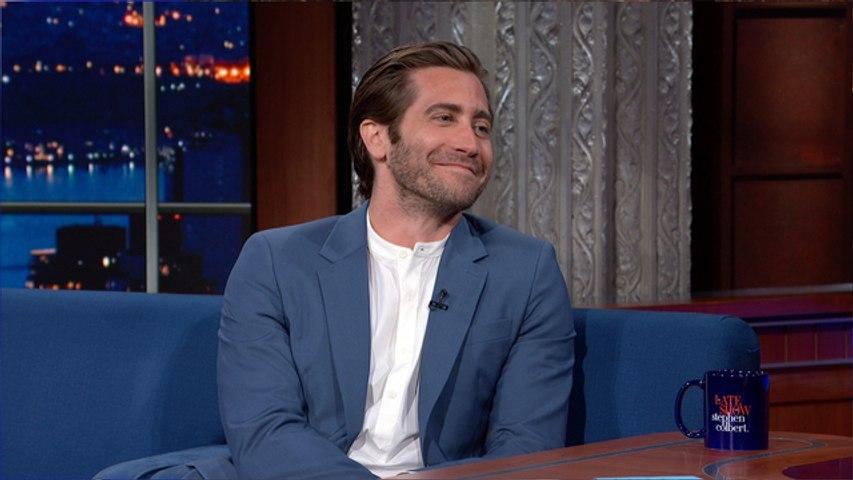 Is Jake Gyllenhaal Dropping Tom Holland For Stephen Colbert?