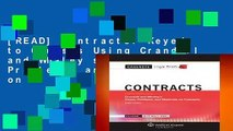[READ] Contracts: Keyed to Courses Using Crandall and Whaley s Cases, Problems, and Materials on