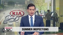 Hyundai, Kia offer free summer inspection service of vehicles