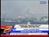 Surigao, Albay officials alert residents for tsunami