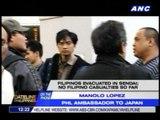No known Filipino fatalities in Sendai so far - Philippine envoy