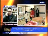 2 more buses to go to Fukushima to fetch Pinoys