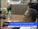 Ligot's wife evasive in Senate hearing