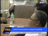 Ligots wife evasive in Senate hearing