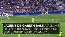 Après l'attaque de l'agent de Bale, Zidane répond fermement !