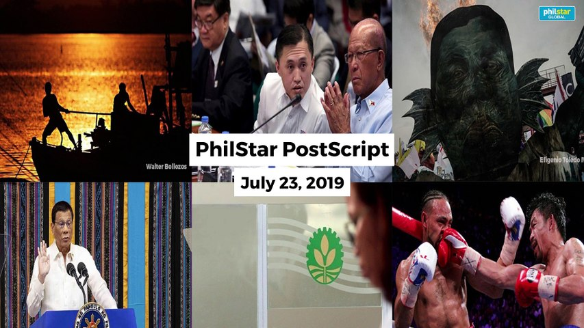 Postscript July 23, 2019