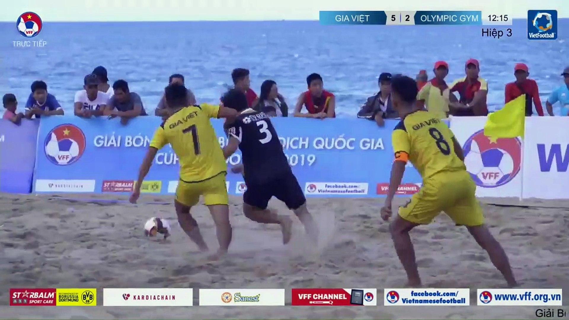 Trực tiếp | Trận tranh hạng 3 | Gia Việt - Olympic GYM (H3) | VFF Channel