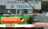 Reportage : une malade meurt devant les urgences du CHU  de Treichville,  les parents reclament justice