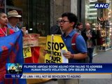 OFWs dismayed over Aquino's failure to include plans for them in SONA 2012