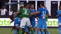 Football : bagarre générale à la fin d'un match amical entre Marseille et Saint-Étienne