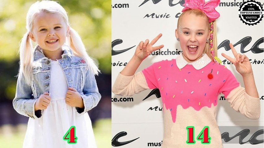 JoJo Siwa - From 1 to 14 Years Old