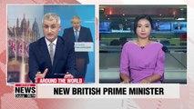 Boris Johnson chosen to replace Theresa May as UK prime minister