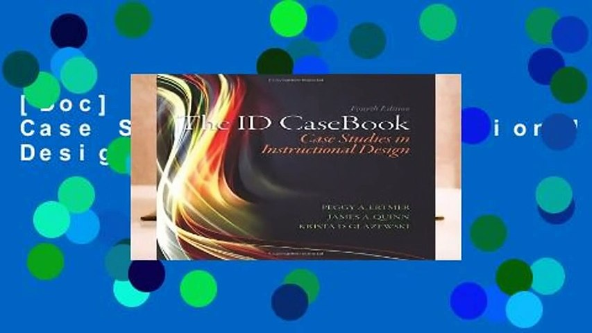 [Doc] The ID CaseBook: Case Studies in Instructional Design