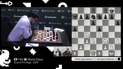 Grand Prix FIDE Riga 2019 Final Game 2
